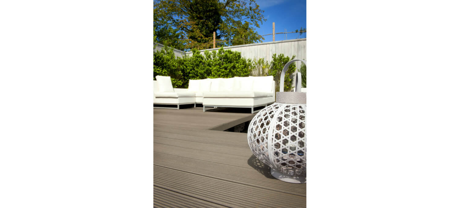 Composiet holle plank terras